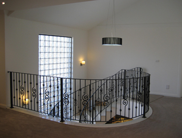 Lighting the stair case